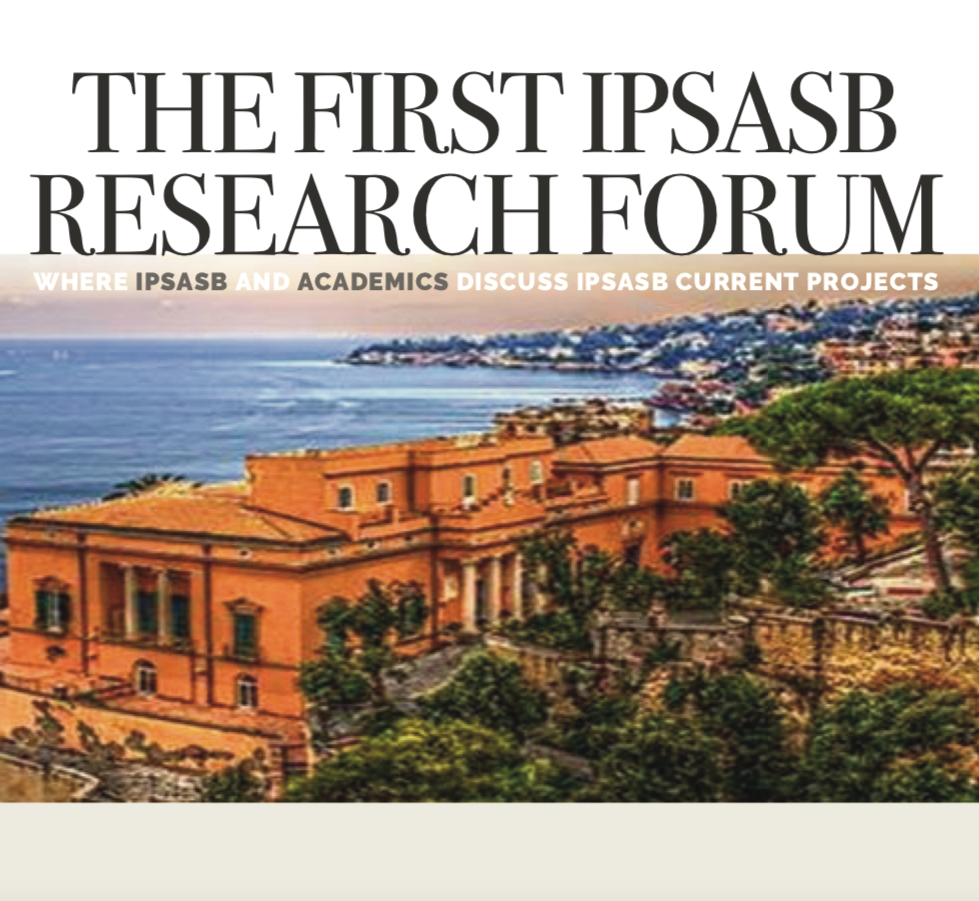 The first IPSASB reserch forum / Napoli - 17 settembre 2019