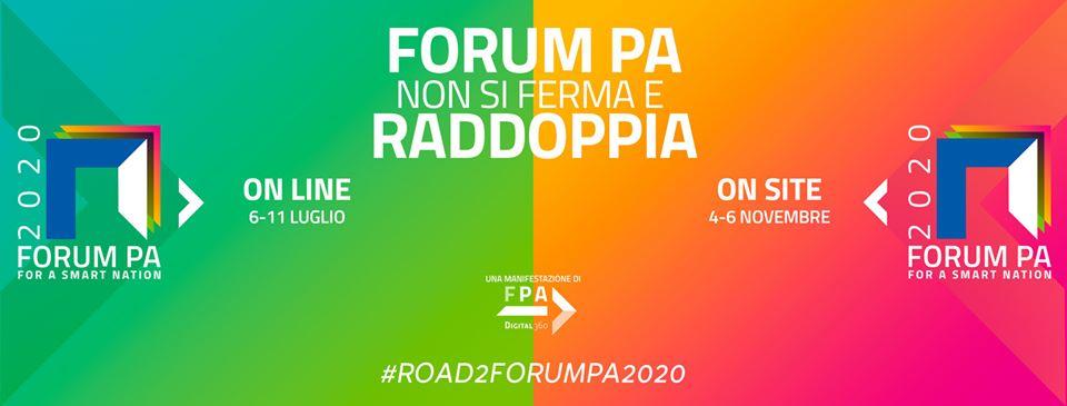 #road2forumpa2020 - Intervista a Enrico Deidda Gagliardo del 21 aprile 2020