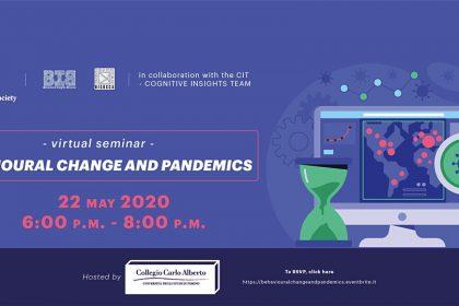 "Virtual Seminar: ""Behavioural Change and Pandemics"""